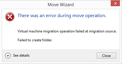 0x80070005 Error